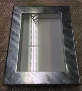 Galvanized LED illuminated Menu Case
